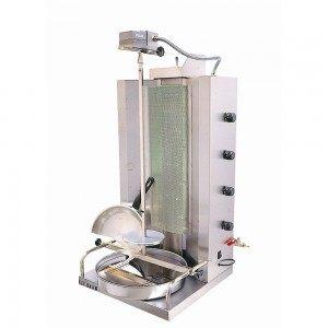 4 Infrarot-Gasbrenner