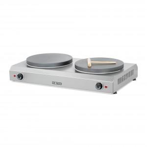 Elektro-Crêpiere mit 2 Platten