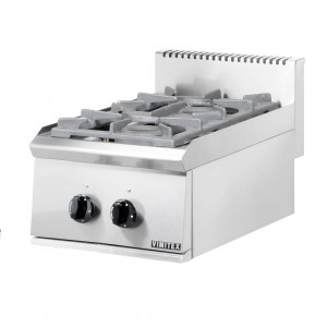 GAS BOILING TOP SERIES ST: 2 BURN/PILOT